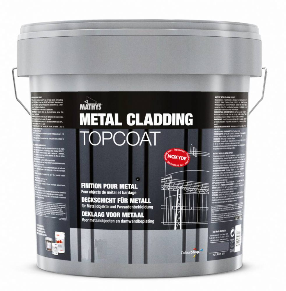 Rustoleum Mathys Metal Cladding Topcoat Custom Mixed Colours 10L